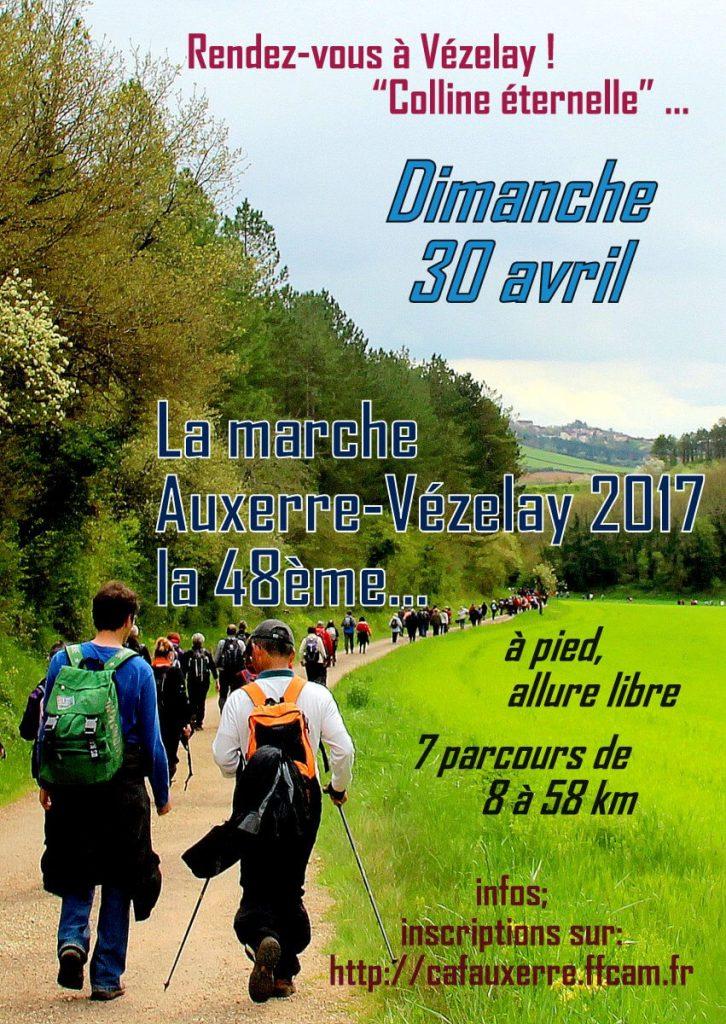 la 48e marche Auxerre-Vézelay